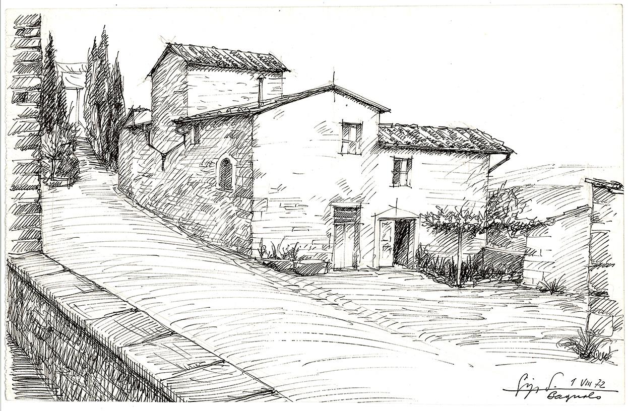 Case rurali in toscana archivio salvagnini for Disegni di case abbandonate